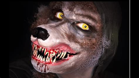 werewolf prosthetic tutorial werewolf prosthetic mask and makeup maryandpalettes