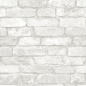 stick on wall paper grey and white brick peel and stick wallpaper