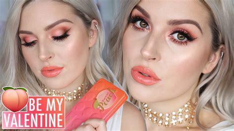 eyeshadow tutorial day valentines day makeup tutorial sweet peach eyeshadow