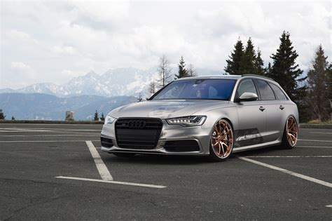 slammed audi a6 slammed wagons are always cool audi a6 on air suspension