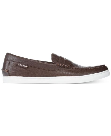 cole haan leather loafers cole haan pinch weekender leather casual loafers in