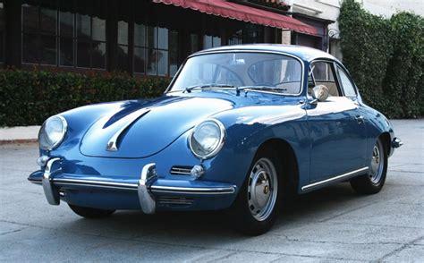 Porsche 356c Coupe 1964 Blue Vintage