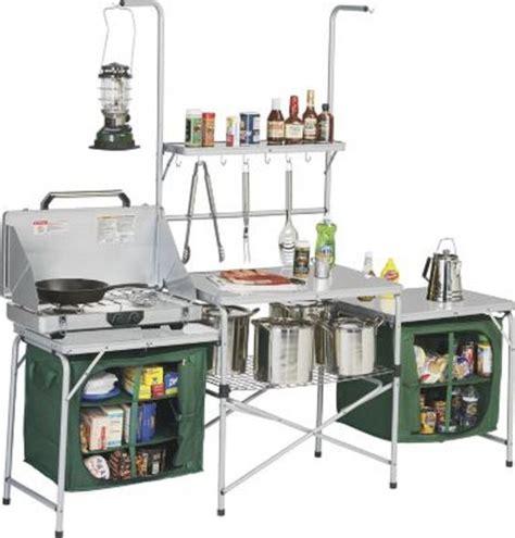 250 amazon com outdoor deluxe portable cing kitchen