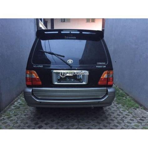 Master Rem Mobil Kijang Kapsul toyota kijang kapsul krista tahun 2003 mulus interior