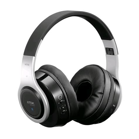 Headphone Tdk tdk wr780 on ear bluetooth headphones silver black deals special offers expansys singapore