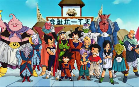 dragon ball z villains wallpaper dragon ball z all characters wallpaper full hd dodskypict