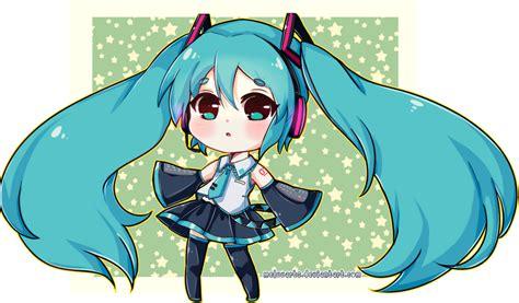 imagenes de miku anime kawaii chibi miku by meluuarts on deviantart