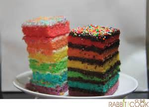 food review a quest for best rainbow cake in town rabbitcancook