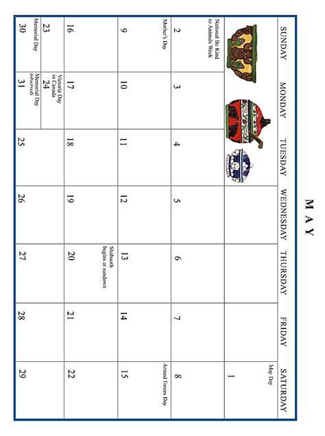 May 1999 Calendar Jan Brett 1999 Calendar May Grid