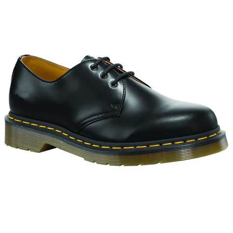 dr martens unisex classic black shoes at marshall shoes
