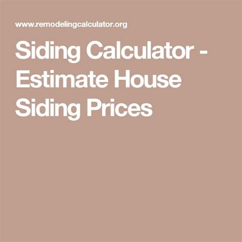 house siding calculator 25 best ideas about siding prices on pinterest hardiplank siding cement price and