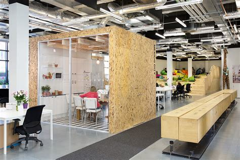 airbnb office heneghan peng creates open collaborative spaces for airbnb