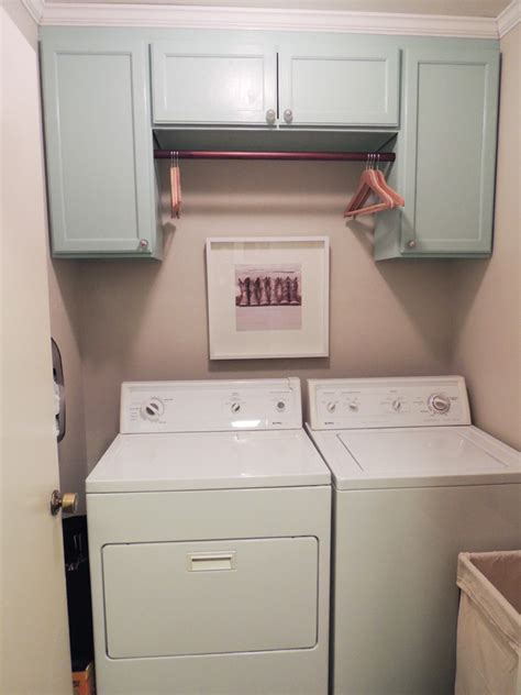 How To Hang Laundry Room Cabinets Laundry Room Revealed Do Or Diy