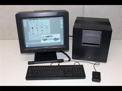 on the computer complete next computer nextcube setup demo