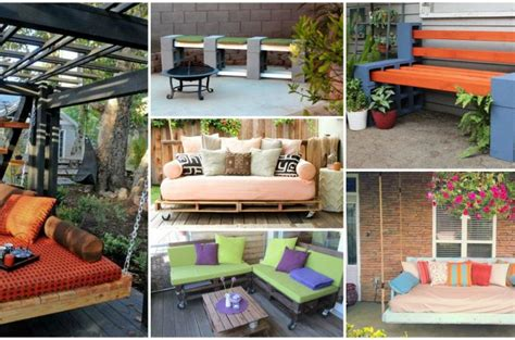 mellow out on an outdoor recliner 15 diy outdoor furniture designs to make for your yard