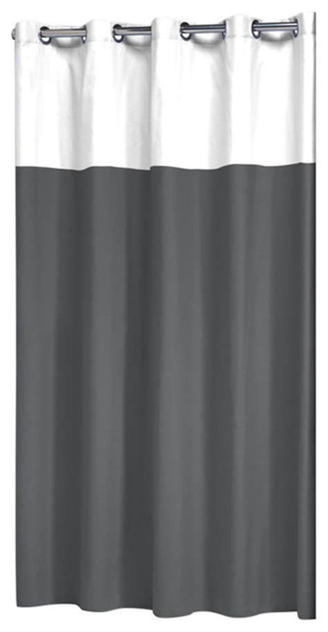 Scandinavian Shower Curtain | shower curtain doppio gray scandinavian shower