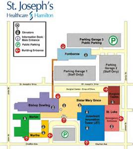 St Joseph Hospital Floor Plan by St Joseph S Hospital Map And Directions