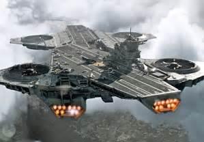 le pentagone s inspire du shield avec des porte avions volants