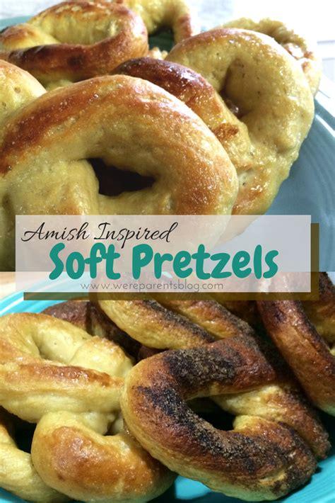 pretzel recipe amish inspired soft pretzel recipe were parents