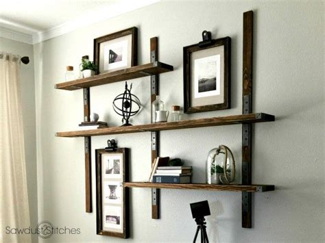 strong tie wall mounted shelves sawdust 2 stitches