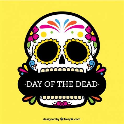 imagenes de calaveras animadas de dia de muertos calavera colorida del d 237 a de los muertos descargar