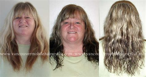 hair gallery snag ease a hair colour correction on mature hair to help her roots