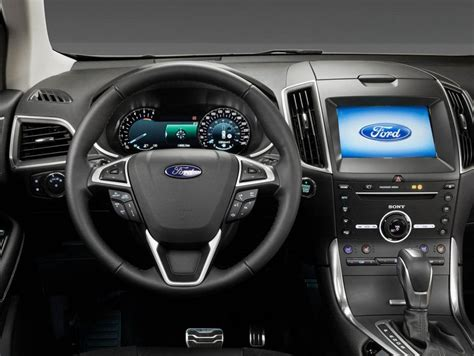 ford interni ford edge foto panoramauto
