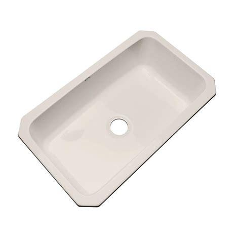 acrylic kitchen sink installation thermocast manhattan undermount acrylic 33 in single bowl