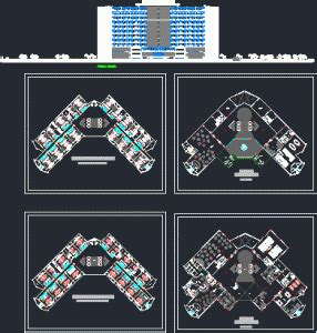 5 star hotel layout plan dwg hotels autocad projects projects dwg free dwg
