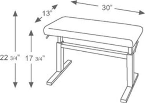 standard piano bench height standard piano bench height 28 images b stock piano