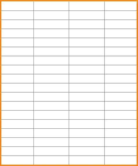 Free Printable Chart Templates