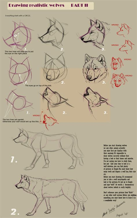 pattern drawing wolf drawing realistic wolves ii by yellow eyes on deviantart
