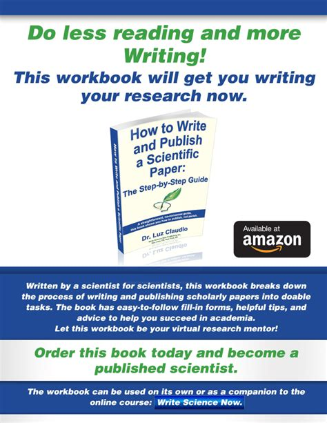 how to write publish a scientific paper pdf how to write and publish a scientific paper the step by