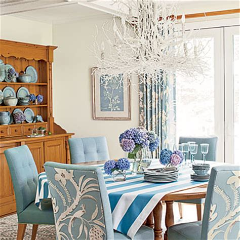 coastal living dining room dining room have fun with color coastal living