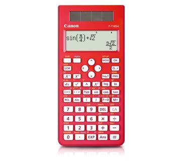 Calculator Canon F 715sg Series f 718s canon malaysia personal