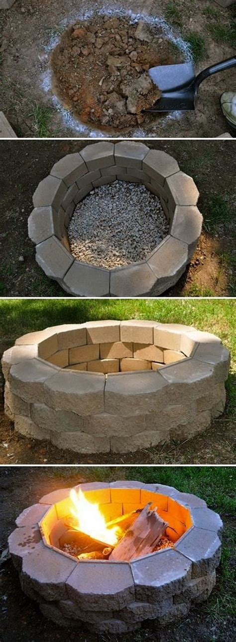 20 Diy Fire Pits For Your Backyard With Tutorials Diy Backyard Firepit