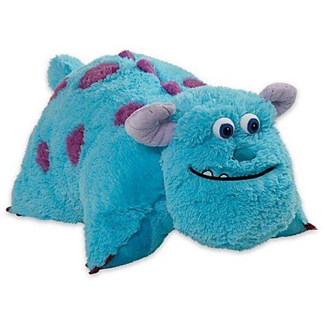 Bantal Sulley Inc Sulley Pillow pillow pets 174 disney 174 sulley folding pillow pet bed bath beyond