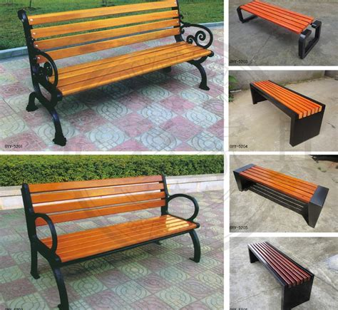 modern garden bench designs wpc public street wooden long bench chair buy wooden