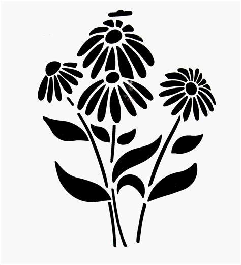 printable daisy stencils best photos of flower stencil template flower stencil