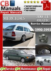 old car repair manuals 1993 mercedes benz 300te free book repair manuals mercedes 300te 4matic 1990 1993 service repair manual ebooks automotive