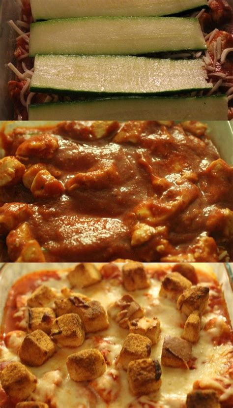 zucchini chicken lasagna crunch recipe delicious easy