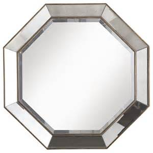 Kids Vanity Table With Mirror Crisanto Octagon Mirror Traditional Wall Mirrors By