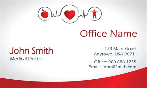 doctor visiting card design templates business cards doctor appointment cards