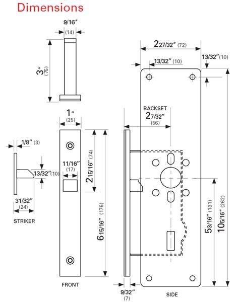 Bathroom Door Lock Measurements The Lavilock Indicator Ada Pocket Door Lock From Cavilock
