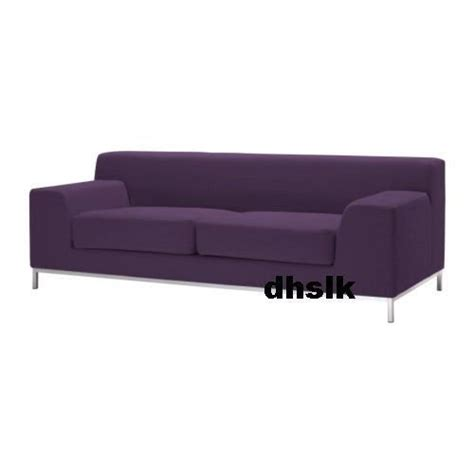 Purple Sofa Covers by Kramfors 3 Seat Sofa Slipcover Cover Myrby Lilac