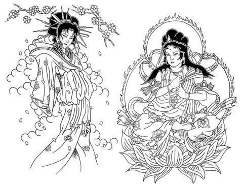 japanese garden coloring pages adult coloring page japan 5