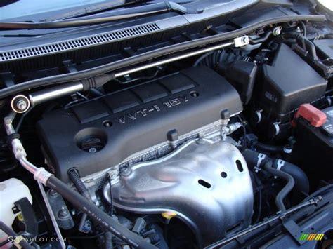 toyota corolla 2 4 liter engine 2009 toyota corolla xrs 2 4 liter dohc 16 valve vvt i