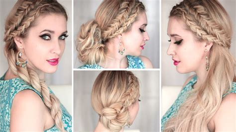 Hairstyles For Wedding Guests Step By Step by Tuto Coiffure D 233 T 233 Pour Tous Les Jours Chignon Simple