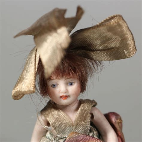 4 inch bisque doll deco all bisque 4 inches doll with large