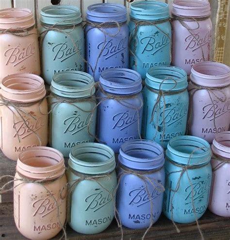 ball mason 20 weckgl 228 ser ball jars gemaltes weckgl 228 ser ihre farben